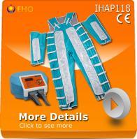 China IHAP118 lymph drainage pressotherapy best leg massage machine on sale