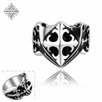 China Handmade Unisex Style Vintage Dart Shaped Stainless Steel Men Ring on sale