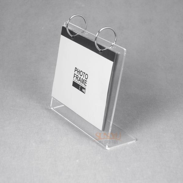 Buy A5 Plastic Custom Picture Frames Acrylic Desk Calendar Stand L