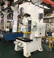 China Mechanical Eccentric C Frame Power Press Machine 100 Ton With Single Crank on sale