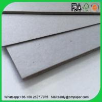 Buy cheap Environmentally packaging material book binding grey board from Wholesalers
