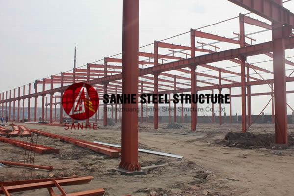 Buy Construction Steel Structure - sanhecg