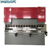 SWANSOFT 125T / 3200mm Safty Hydraulic Press Brake Carbon Steel Plate Bending Machine
