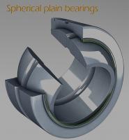 Buy cheap Chrome Steel Car Use Spherical Plain Bearing GEG100ES GEG100ES-2RS from Wholesalers