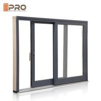Anti Aging Aluminium Sliding Patio Doors For Interior House Customized Color
