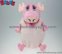 High Quanlity Plush Pig Animal Toy Children School Backpack