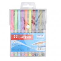 Buy cheap 12pcs 10pcs gel pen set of China supplier glitter pen from Wholesalers