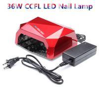 Buy cheap Salon White Black Blue UV LED Nail Lamp ABS Plastic 365nm 395nm Wavelength from Wholesalers
