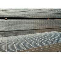 Hot Dip Galvanized Serrated Steel Grating For Anti Slip