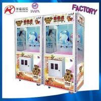 China Guangzhou supplier toy claw crane vending machine arcade claw game machine LED mini claw crane machine for sale on sale