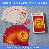 Buy cheap Custom Designed Poker from Wholesalers
