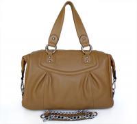 Buy cheap Women Style New Design Genuine Leather Khaki Shoulder Bag Handbag #2624 from Wholesalers