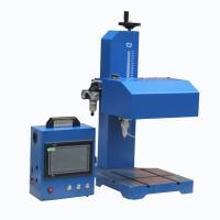 China Customized Cookware Pneumatic Dot Peen Marking Machine for Logo Marking on sale
