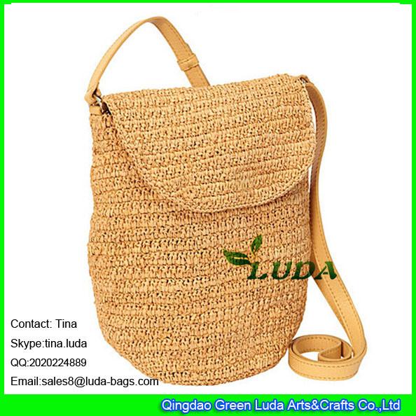 a0b997e14c LUDA wholesale raffia shoulder tote bag fashion sling straw raffia handbags  Images