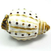 China Trumpet Shell Jewelry Box, Trinket Box (JA-006) on sale