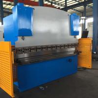 Benchtop Hydraulic Steel Plate Press Brake Machine 63T / 2500mm