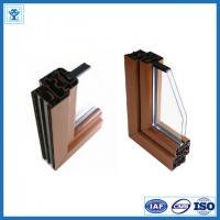 China famous brand aluminum profile / 6063-T5 aluminum window door profiles