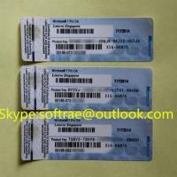 Buy cheap WIN 7 Pro OEM Stickers, Original, WIN7 Labels, OEM Coa, Multilanguage OEM Key from Wholesalers