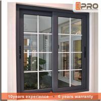 China Energy Saving Customized Double Glazed Aluminium Sliding Windows For House Project on sale