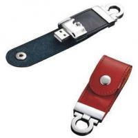 China Leather Wholesale USB Flash Drives on sale