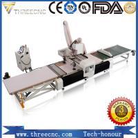 China Auto feeding furniture making machine cnc wood carving machine TM1325F.THREECNC on sale