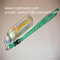 China Camping water bottle holder lanyards, hiking drink bottle straps, on sale