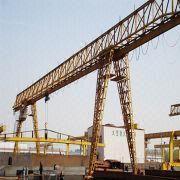 Buy cheap single beam gantry crane on rails from Wholesalers