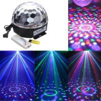 China Mini RGB LED Crystal Ball, DMX Music 3w Crystal Magic Ball Laser Stage Light on sale