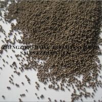 Yellow round alumina ball free dust sand for glass sandblasting
