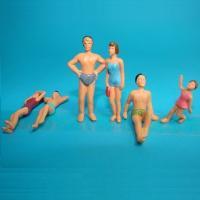 Buy cheap model swim figure,color figure,painted swim  figure,scale figures,model figures,ABS figures,1:75 swim figures from Wholesalers
