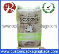 China Any Color Custom Logo Popcorn Plastic Food Packaging Bags Waterproof on sale