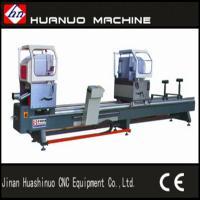 Buy cheap aluminum double head cutting saw / aluminium doors window manufacturing machine from Wholesalers