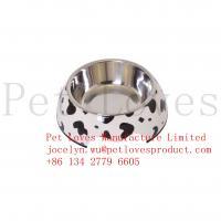 China Wholesale eco Friendly Melamine Animal Feeders Dog Bowl Custom Logo Printing Pet Bowl on sale