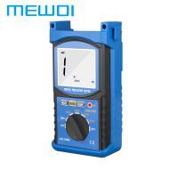 China MEWOI68G 2500V/1MΩ~20GΩ/1~750V Digital Insulation Tester on sale