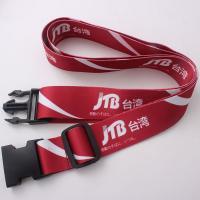 Buy cheap Custom logo printing luggage bag belt from Wholesalers