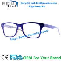 Buy cheap Acetate glasses eyewear fashionable full rim metal optical eyewear optical glasses frame not free samples made in china from Wholesalers