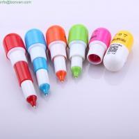 Buy cheap cute cheap pill advertising mini ballpen,pill ball pen,retractable funny pen from Wholesalers