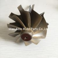 Buy cheap T04E 65.8/74.17mm turbine shaft&wheel /turbo wheel /turbo shaft for turbocharger from Wholesalers