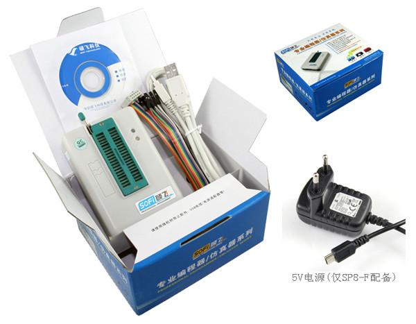 Original SOFi SP8-F USB Programmer+offline programming EEPROM SPI BIOS support