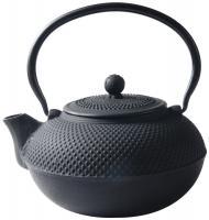 China Black Hobnail Cast Iron Teapot , 900ml Chinese Cast Iron Tea Set on sale