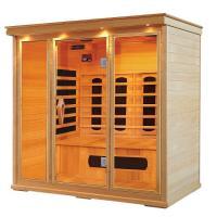 China Hemlock Far Infrared Sauna Cabin for 1 - 5 person , Carbon / Ceramic fiber on sale