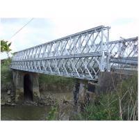 Buy cheap hotel bedspread Q345B - Q460C Grade Steel Bailey Bridge Fabrication from Wholesalers