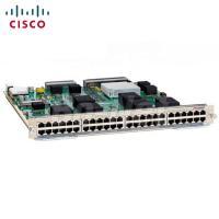 Buy cheap 6807 Series Cisco Transceiver Module , 48 Port Gigabit Ethernet Module C6800-48P-TX from Wholesalers