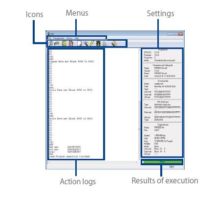 Original Renesas PG-FP5 can erasing, programming, verifying programs on Renesas