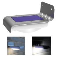 China Wireless Solar Powered Motion Sensor Light , Solar Led Lights Outdoor on sale