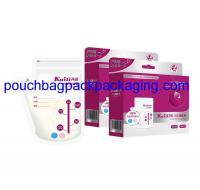 Buy cheap Breast milk storage bag Alternating temperature sensor function (MILK STORAGE BOTTLE) from Wholesalers