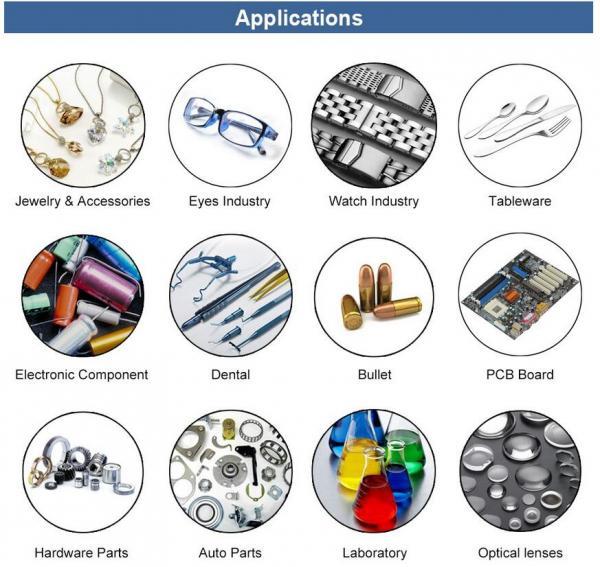 Cleaner Cleaning Equipment 2L 50W 40KHZ Jewelry Glass Digital Ultrasonic Bath