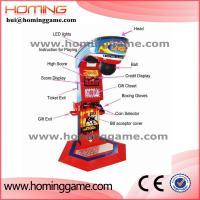 Buy cheap Newest Punch Bag Boxing Amusement Game Machine / Boxing Game Machine / boxing arcade machines(hui@hominggame.com) from Wholesalers