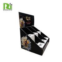 Easily Assemble Wine Cardboard Counter Displays Load 6 Bottles POP Custom Layer