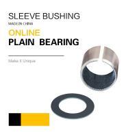 Buy cheap Tribology Solution Fiber Reinforced Composite Sleeve Bearing / Valve Bush from Wholesalers